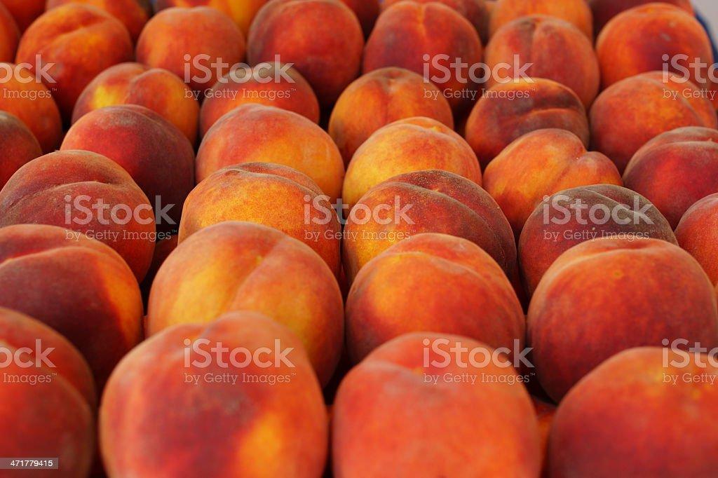 Peach fruits background XXXL royalty-free stock photo