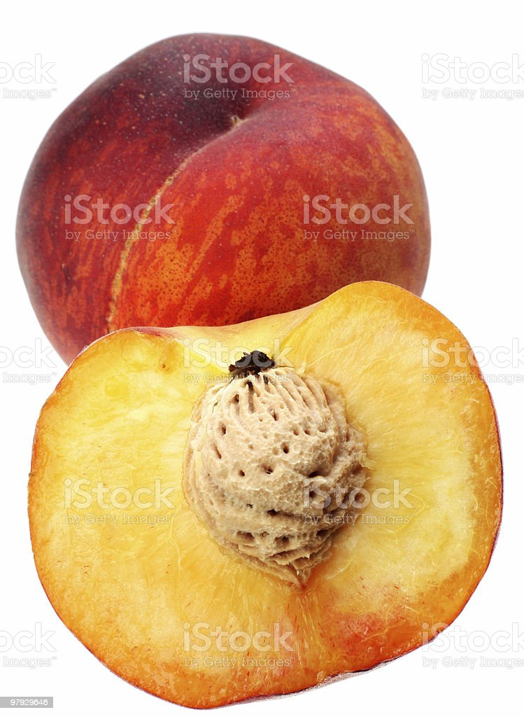 Peach group royalty-free stock photo