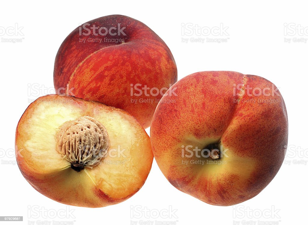 Peach group royalty-free stock photo