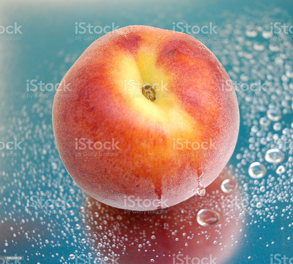 peach III royalty-free stock photo