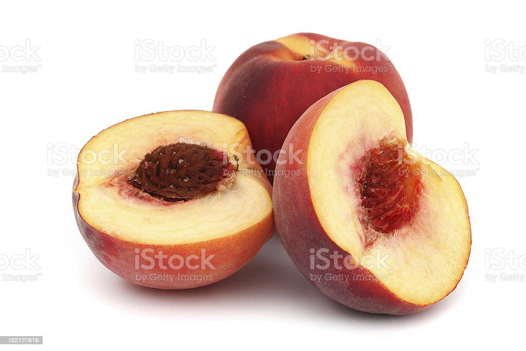 peach pile royalty-free stock photo