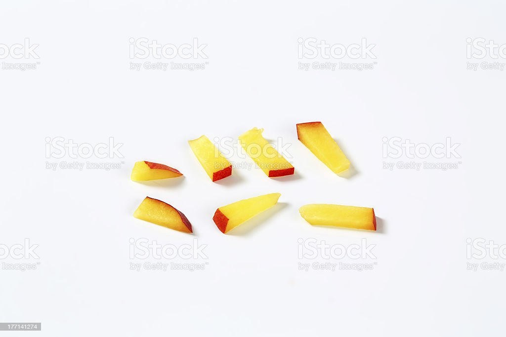 peach stripes royalty-free stock photo
