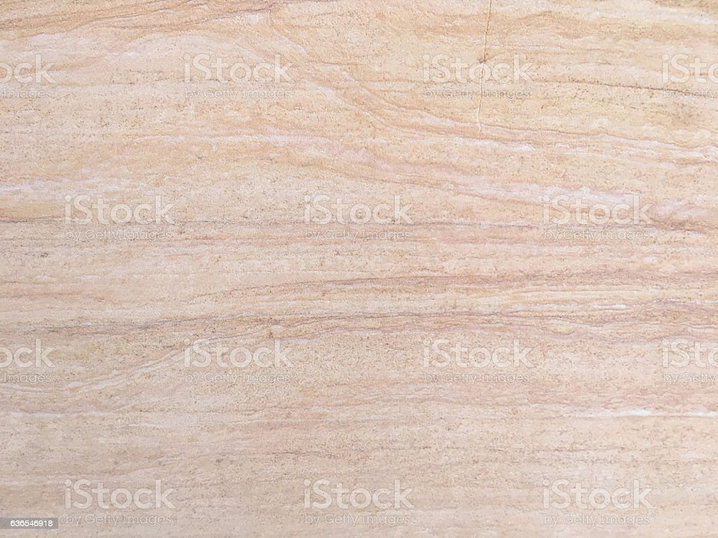 Peach travertine flooring material stock photo