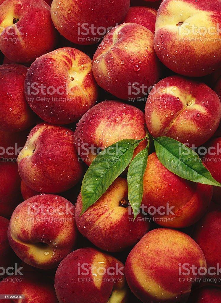 Peach wallpaper (2) stock photo