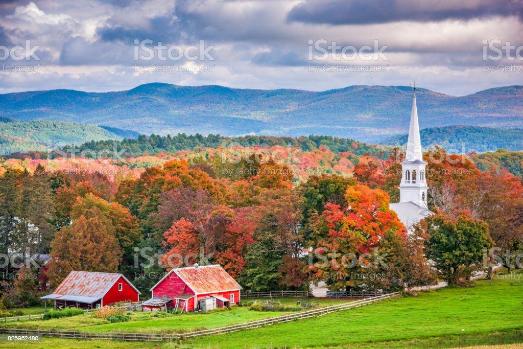 Peacham, Vermont, USA stock photo