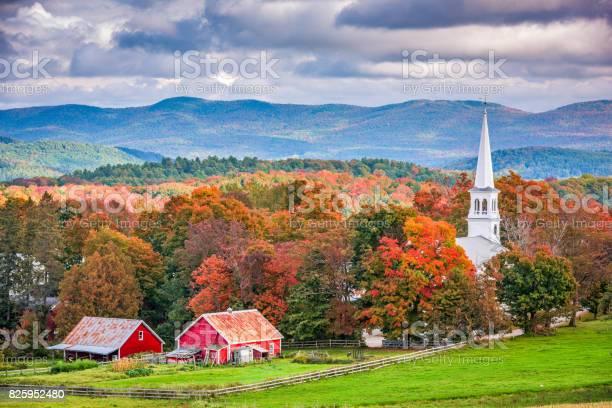 Peacham Vermont Usa Stock Photo - Download Image Now