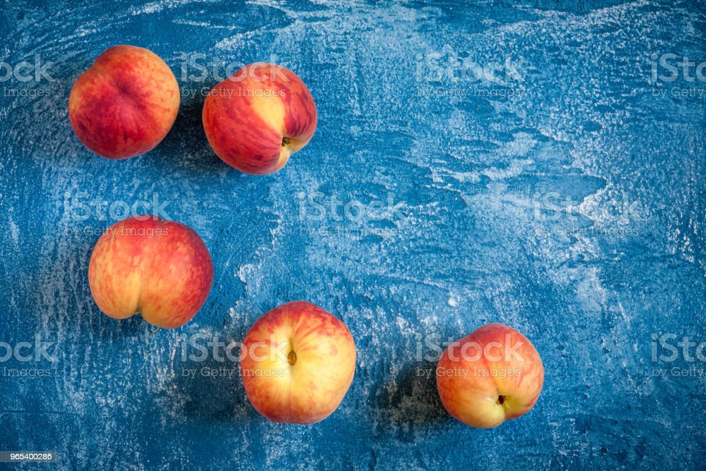 Peaches on background royalty-free stock photo