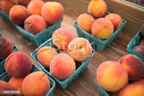 Peach, Farmer's Market, Fruit, Market, Georgia - US State