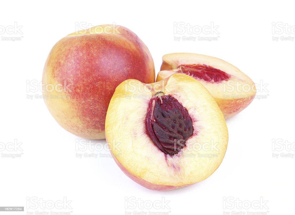 Peaches stock photo