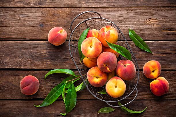 peaches - 桃 個照片及圖片檔