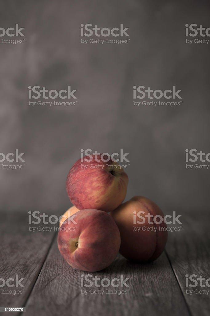 Peaches! stock photo