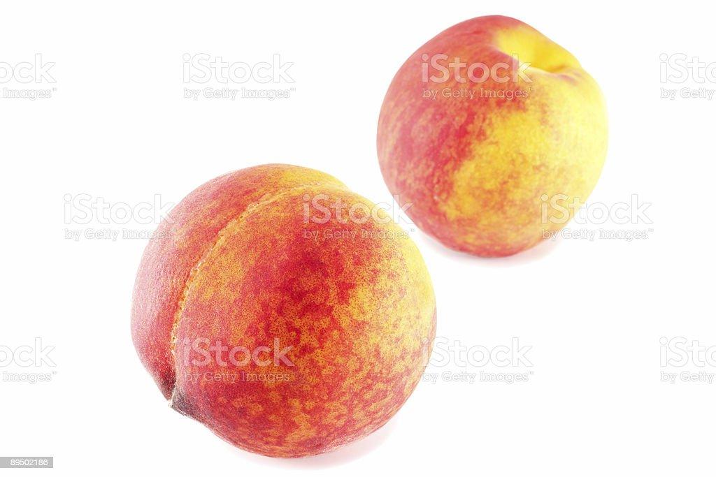 peaches royalty-free stock photo