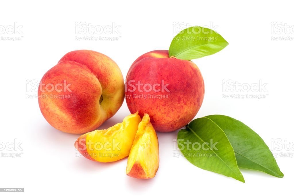 Peaches zbiór zdjęć royalty-free