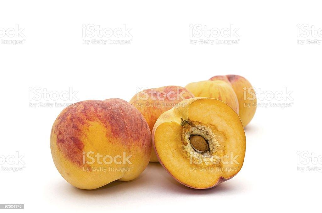 Peaches. royalty-free stock photo