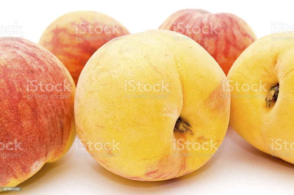 Peaches. royalty-free stock photo