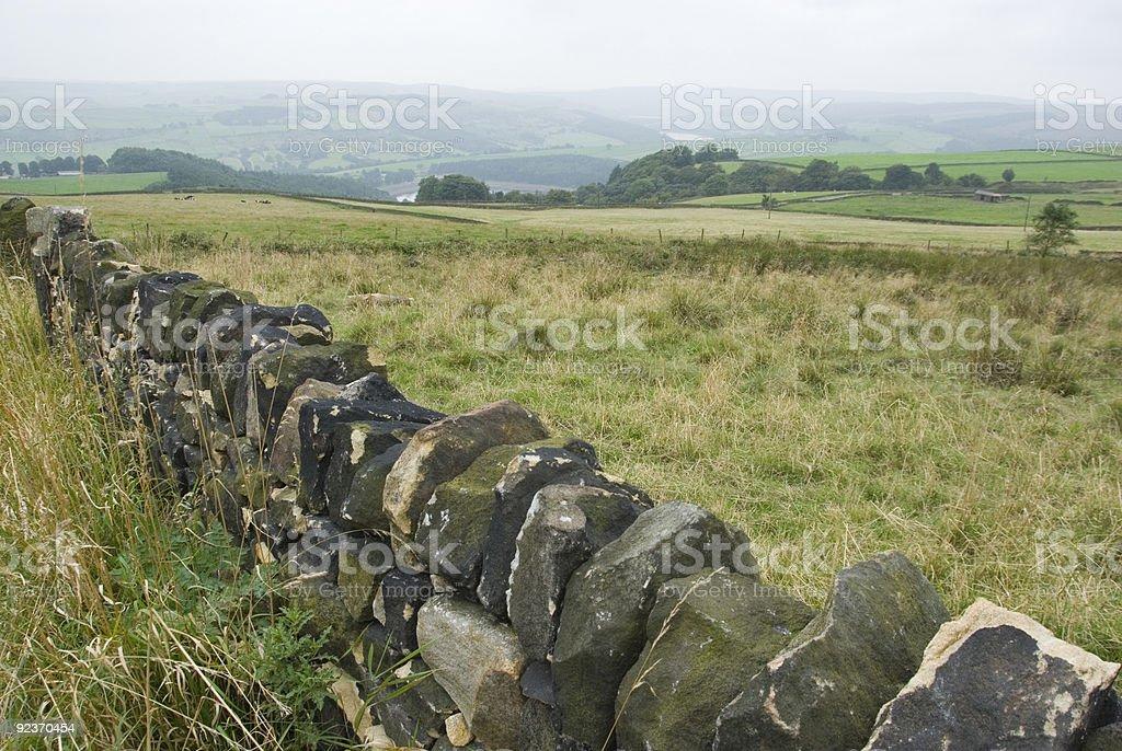 Peak District Landscape royalty-free stock photo