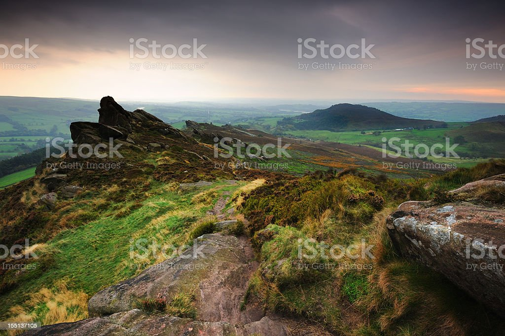 Peak District National Park stock photo