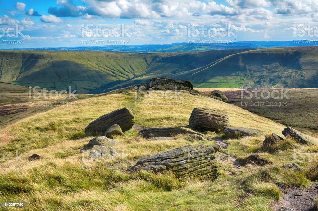 Peak District National Park stock photo