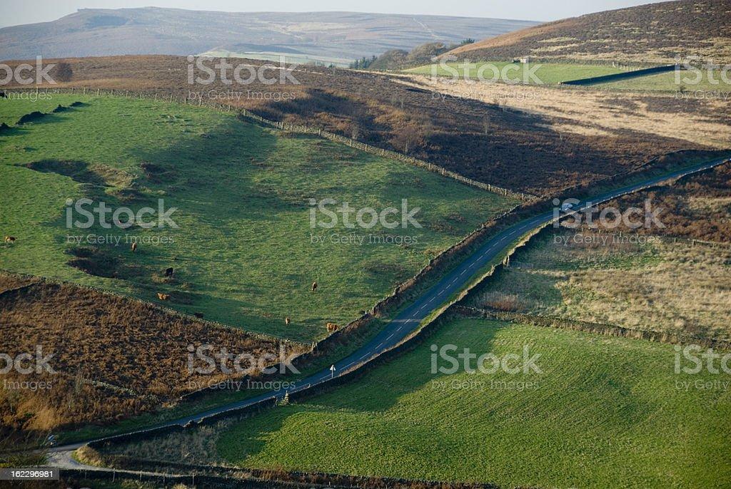 Peak District, UK royalty-free stock photo
