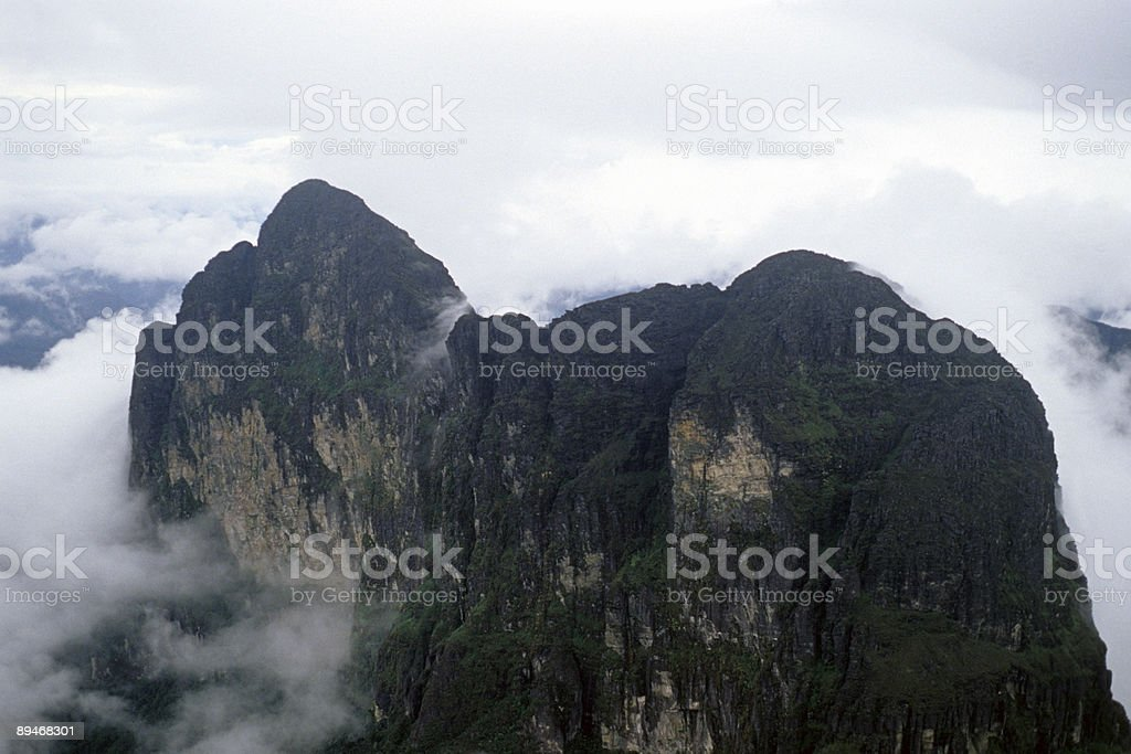 Pico da Neblina royalty-free stock photo