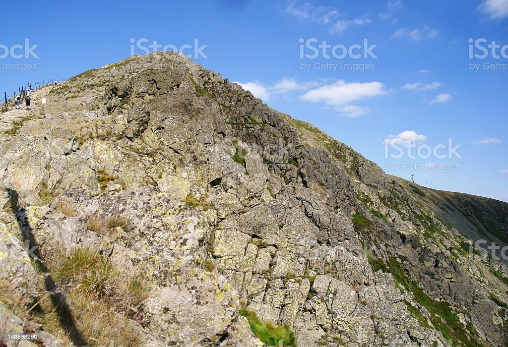 peak royalty-free stock photo