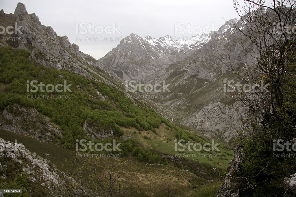 Picos de Europe royalty-free stock photo