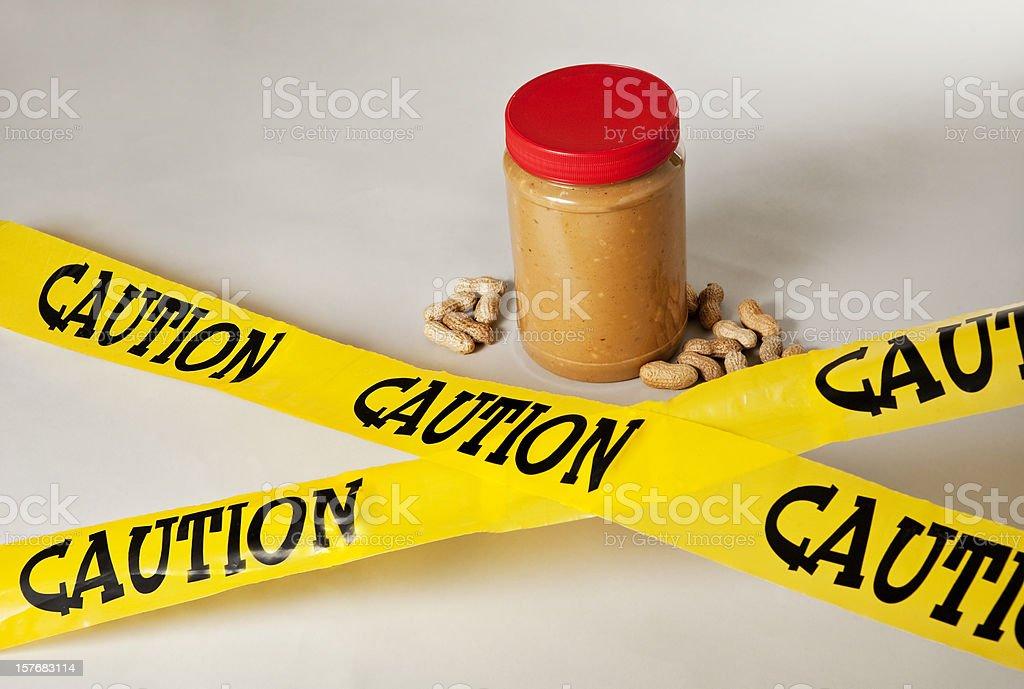 Peanut Allergy - 1 royalty-free stock photo