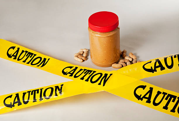 peanut allergy - 1 - peanut food stock photos and pictures
