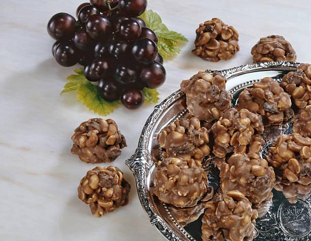 Arachide et aux raisins secs groupes - Photo