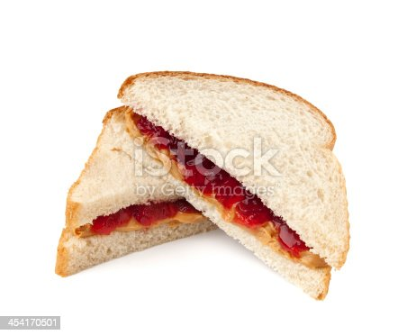istock Peanut Butter and Jelly Sandwich 454170501