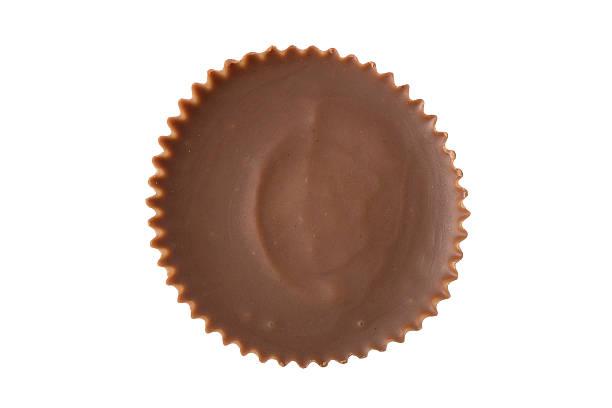 peanut butter cup - overhead - 컵 뉴스 사진 이미지