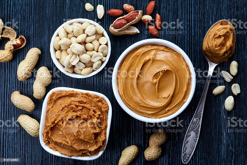 Peanut butter stock photo