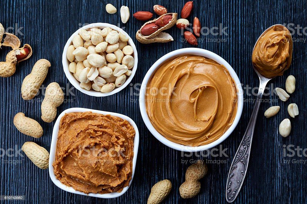 Mantequilla de maní  - foto de stock
