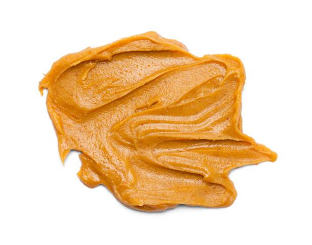 pindakaas uitstrijkje - pindakaas stockfoto's en -beelden