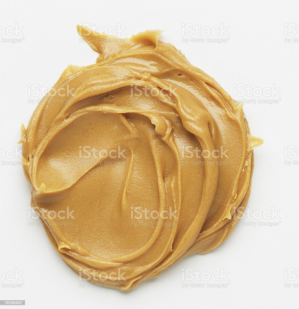 peanut butter spread stock photo
