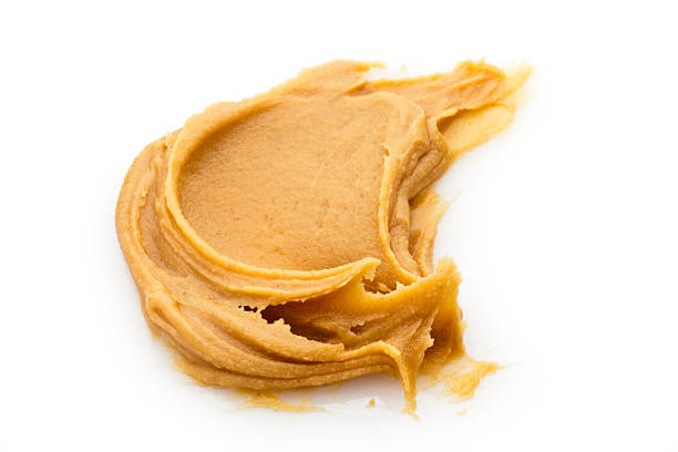 Peanut butter spread stock photo