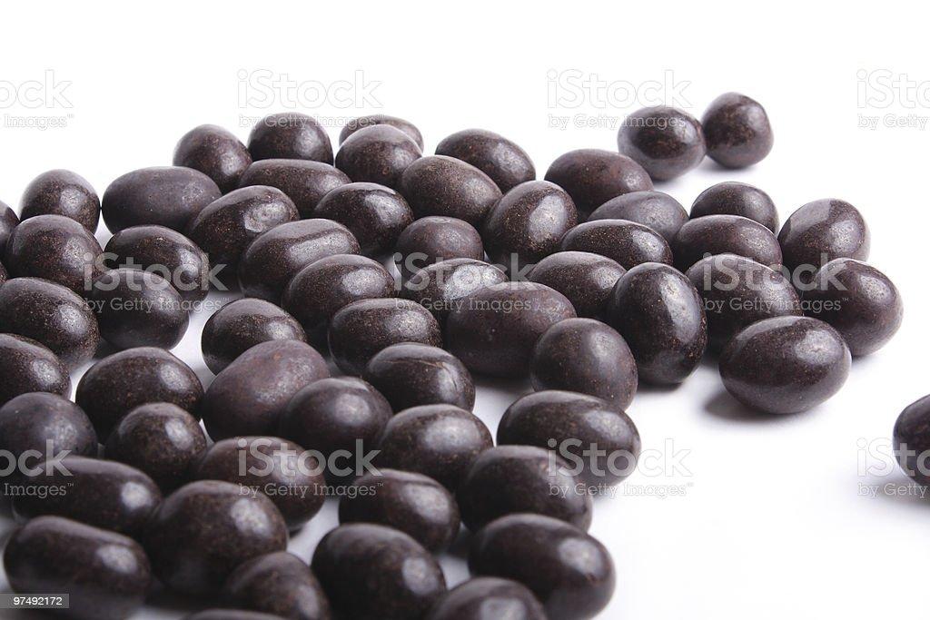 Peanut in chocolate royalty-free stock photo