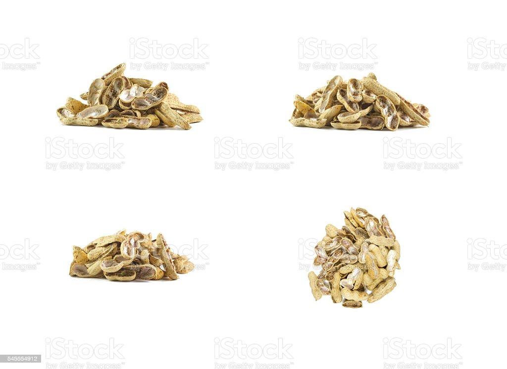 peanut shell stock photo