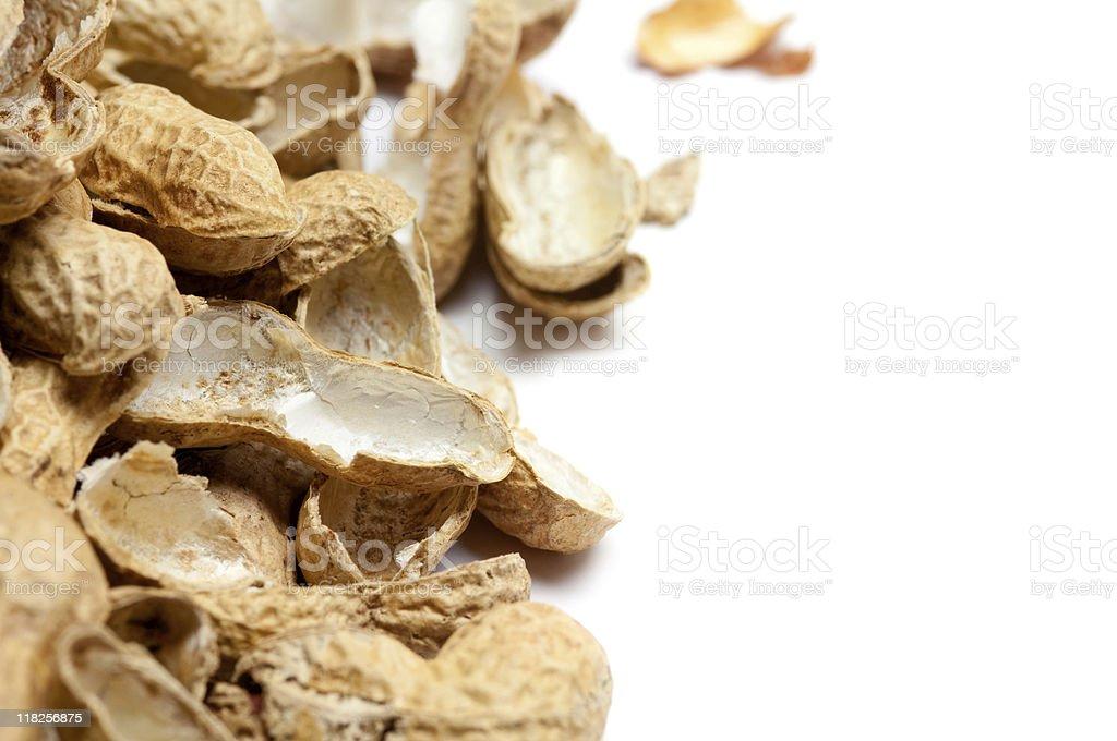 Peanut Shells royalty-free stock photo