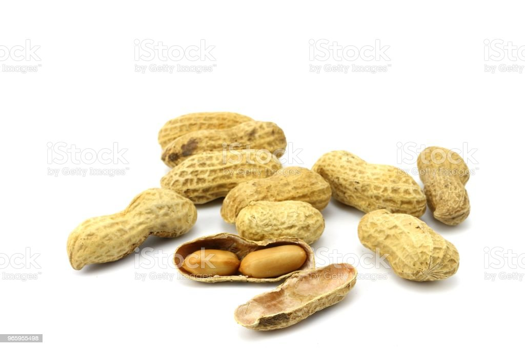 peanut snack and organic food - Royalty-free Brown Stock Photo