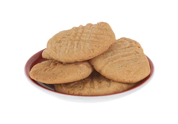 peanutbutter cookies - peanutbutter bildbanksfoton och bilder