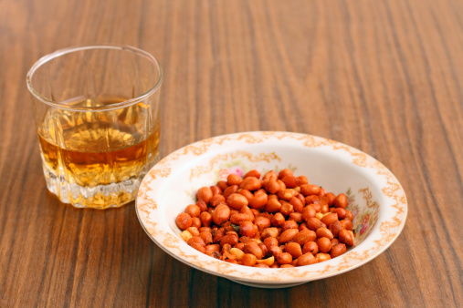 Peanuts and whisky