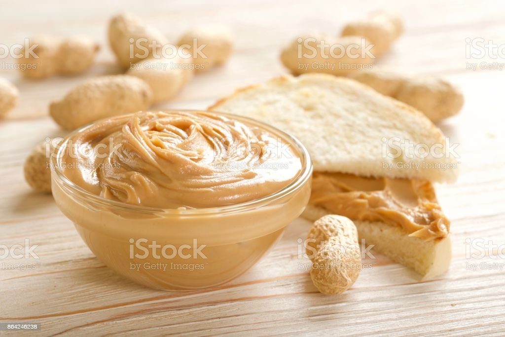 peanuts butter royalty-free stock photo