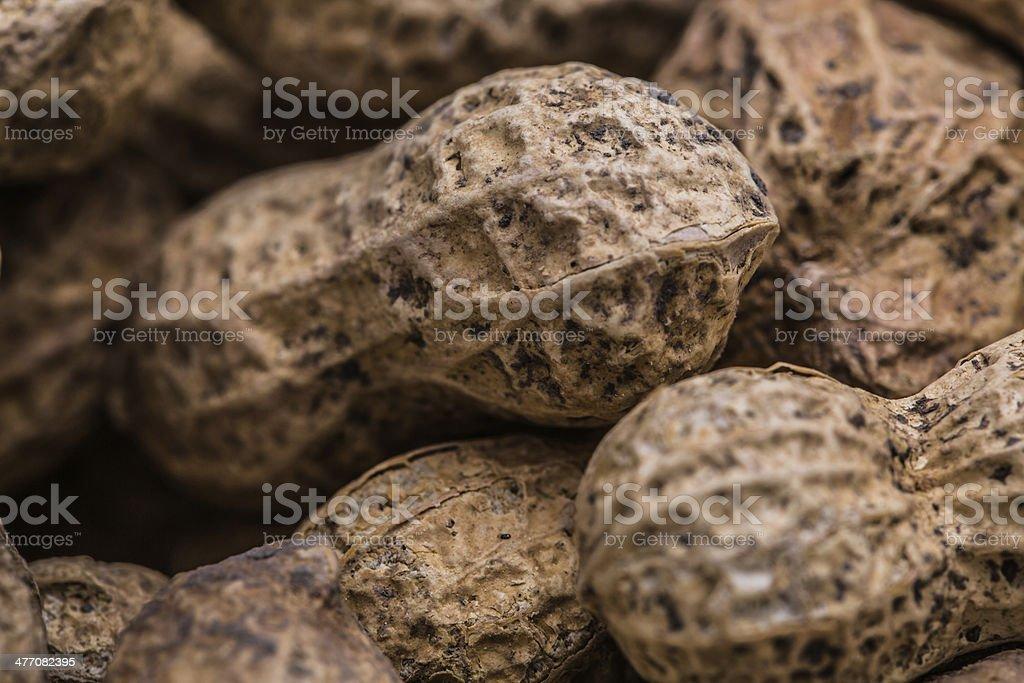 Peanuts - Macro Image royalty-free stock photo