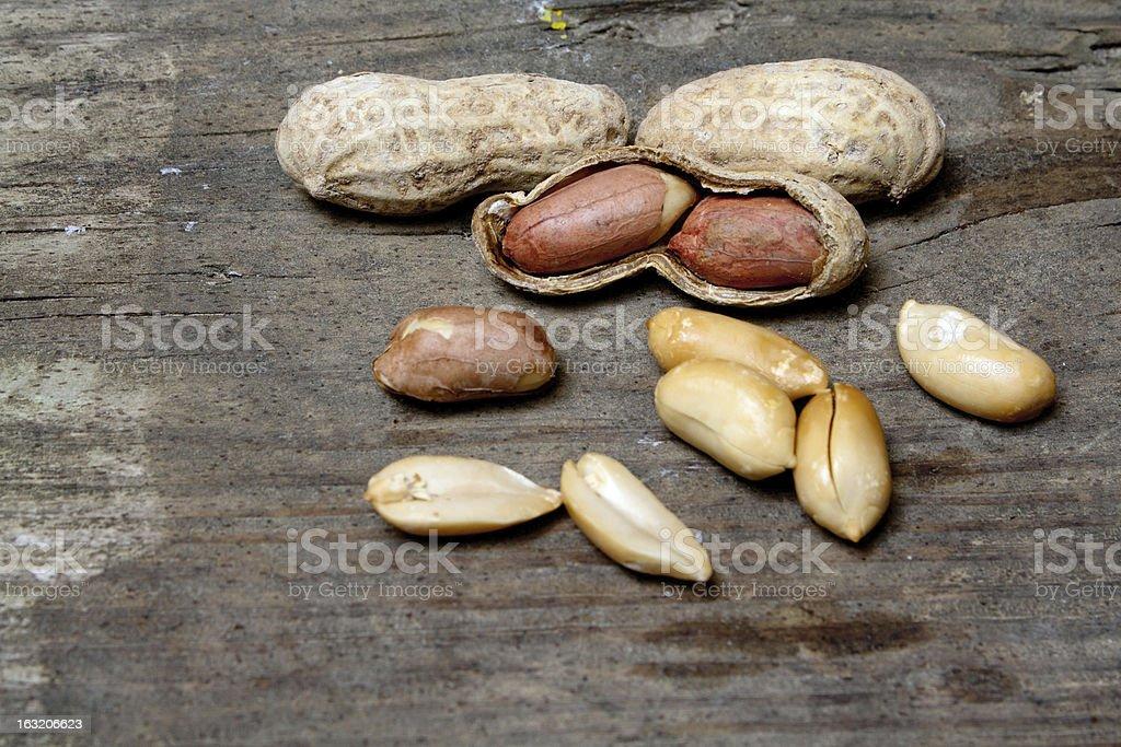 Peanuts royalty-free stock photo