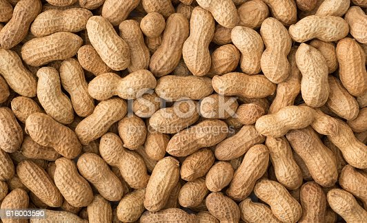 Peanuts with shell , background