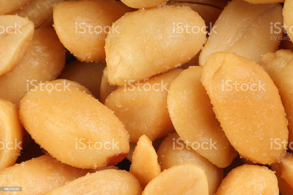 Peanuts royalty-free 스톡 사진