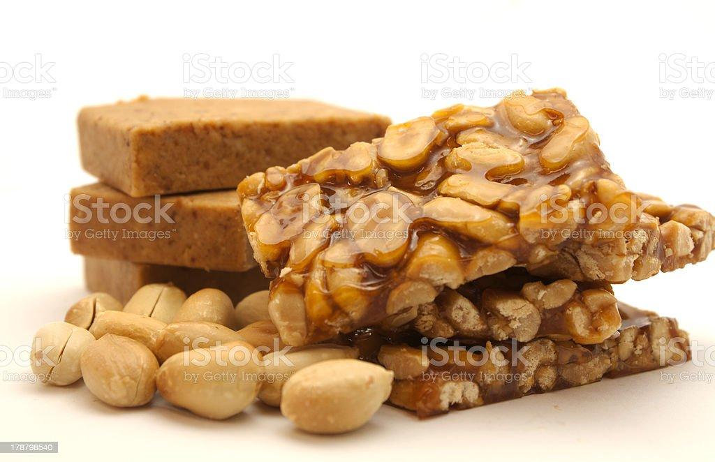 Amendoins doces - foto de acervo