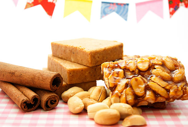 Peanuts treats stock photo