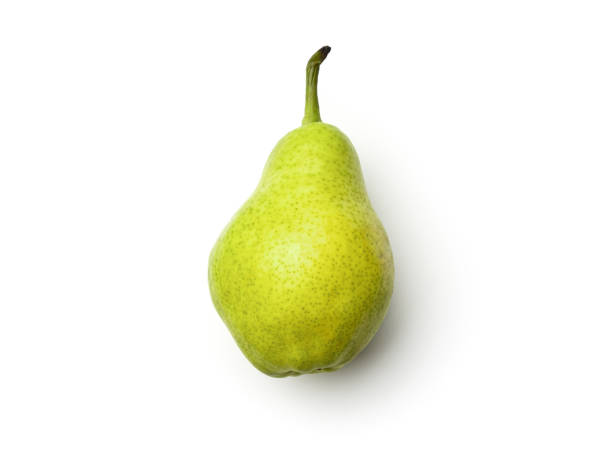 Pear isolated on white background stock photo